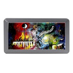 Abstract Music Painting Memory Card Reader (Mini)