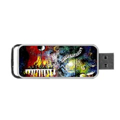 Abstract Music Painting Portable USB Flash (Two Sides)