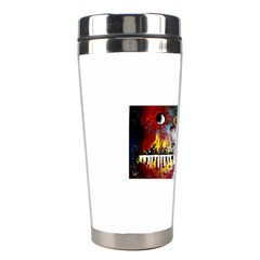 Abstract Music Painting Stainless Steel Travel Tumblers