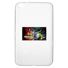 Abstract Music Painting Samsung Galaxy Tab 3 (8 ) T3100 Hardshell Case