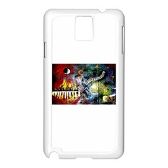 Abstract Music Painting Samsung Galaxy Note 3 N9005 Case (white)