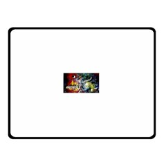 Abstract Music Painting Double Sided Fleece Blanket (Small)