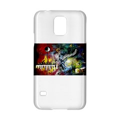 Abstract Music Painting Samsung Galaxy S5 Hardshell Case