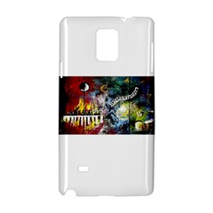 Abstract Music Painting Samsung Galaxy Note 4 Hardshell Case