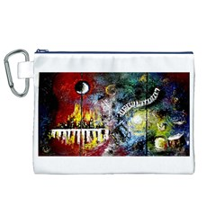 Abstract Music Painting Canvas Cosmetic Bag (XL)