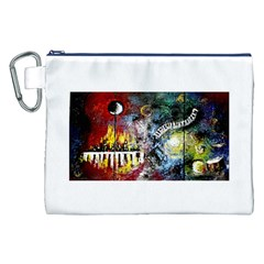 Abstract Music Painting Canvas Cosmetic Bag (XXL)