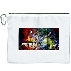 Abstract Music Painting Canvas Cosmetic Bag (XXXL)