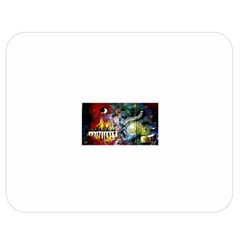 Abstract Music Painting Double Sided Flano Blanket (Medium)