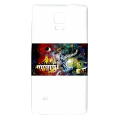 Abstract Music Painting Galaxy Note 4 Back Case