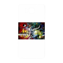 Abstract Music Painting Samsung Galaxy Alpha Hardshell Back Case