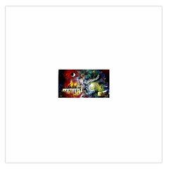 Abstract Music Painting Large Satin Scarf (Square)