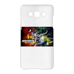 Abstract Music Painting Samsung Galaxy A5 Hardshell Case