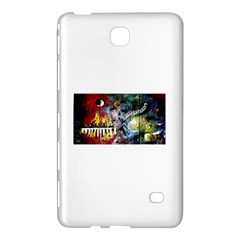 Abstract Music Painting Samsung Galaxy Tab 4 (7 ) Hardshell Case