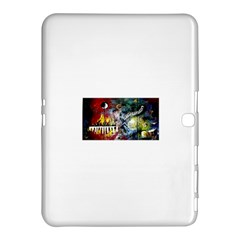Abstract Music Painting Samsung Galaxy Tab 4 (10.1 ) Hardshell Case