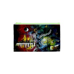 Abstract Music Painting Cosmetic Bag (XS)