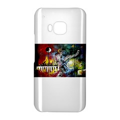 Abstract Music Painting HTC One M9 Hardshell Case