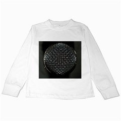 Modern Microphone Kids Long Sleeve T Shirts