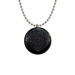 Modern Microphone Button Necklaces