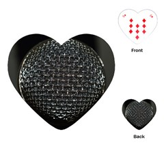 Modern Microphone Playing Cards (Heart)