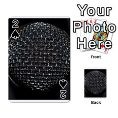 Modern Microphone Playing Cards 54 Designs