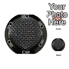 Modern Microphone Playing Cards 54 (Round)