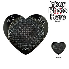 Modern Microphone Playing Cards 54 (Heart)