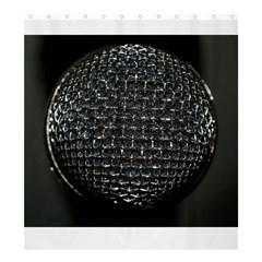 Modern Microphone Shower Curtain 66  x 72  (Large)