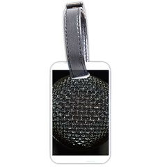 Modern Microphone Luggage Tags (one Side)