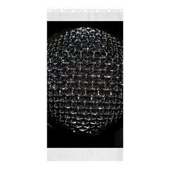 Modern Microphone Shower Curtain 36  x 72  (Stall)
