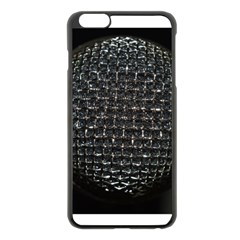 Modern Microphone Apple iPhone 6 Plus Black Enamel Case