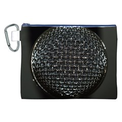 Modern Microphone Canvas Cosmetic Bag (XXL)
