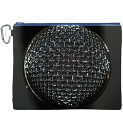 Modern Microphone Canvas Cosmetic Bag (XXXL)