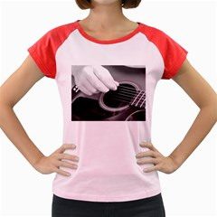 Guitar Player Women s Cap Sleeve T-Shirt