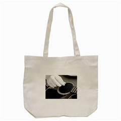 Guitar Player Tote Bag (cream)