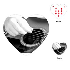 Guitar Player Playing Cards (Heart)