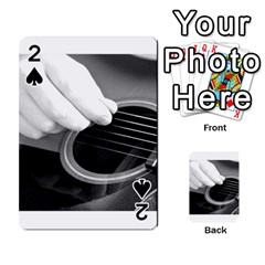 Guitar Player Playing Cards 54 Designs