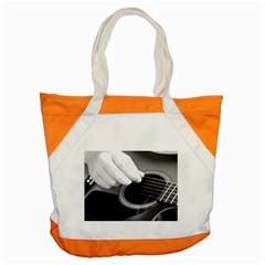 Guitar Player Accent Tote Bag