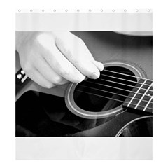 Guitar Player Shower Curtain 66  X 72  (large)