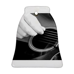 Guitar Player Bell Ornament (2 Sides)
