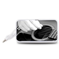 Guitar Player Portable Speaker (White)