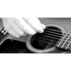 Guitar Player YOU ARE INVITED 3D Greeting Card (8x4)