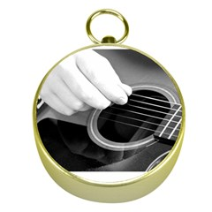 Guitar Player Gold Compasses
