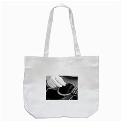 Guitar Player Tote Bag (White)