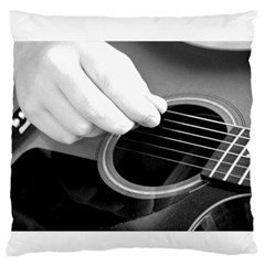 Guitar Player Large Flano Cushion Cases (Two Sides)