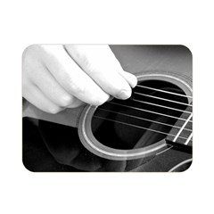 Guitar Player Double Sided Flano Blanket (Mini)