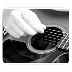 Guitar Player Double Sided Flano Blanket (Small)