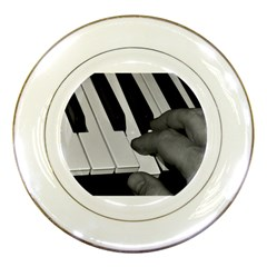 The Piano Player Porcelain Plates
