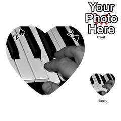 The Piano Player Playing Cards 54 (Heart)