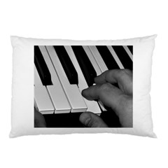 The Piano Player Pillow Cases