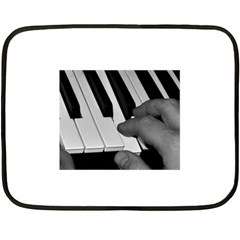 The Piano Player Fleece Blanket (Mini)